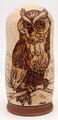 Great Horned Owl | Alaska Theme Matryoshka Nesting Doll.