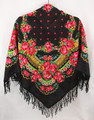 Russian Pavlovo Posad Shawl - Evening