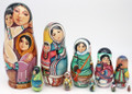 Alaska Lullaby 10pc | Alaska Theme Matryoshka Nesting Doll