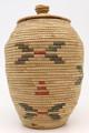 Native American Yupik Woven Basket - Hand Woven Basket