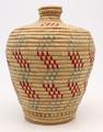 Native American Yupik Woven Basket Kipnuk - Hand Woven Basket