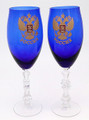 Imperial Wine Glasses - Set of 2 | Russian Crystal / Glass