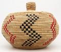 Native American Yupik Alaskan Basket - Hand Woven Basket