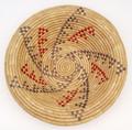 Native American Yupik Woven Bowl Kipnuk - Hand Woven Basket