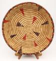 Native American Yupik Woven Tray  - Hand Woven Basket