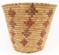 Native American Alaskan Yupik Basket - Hand Woven Basket