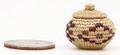 Native American Yupik Basket (Mingqaaq) by Tamara Mosher - Hand Woven Basket