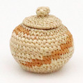 Native American Yupik Basket by Tamara Mosher - Hand Woven Basket