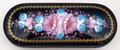 Russian Eyeglass Case - Pink and Blue Flowers