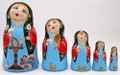Blue Eyed Matryoshka | Fine Art Matryoshka Nesting Doll