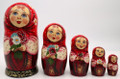 Summer Flowers Matryoshka | Traditional Matryoshka Nesting Doll