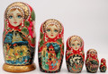Troika Matryoshka 5pc | Traditional Matryoshka Nesting Doll