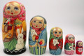 Girl with Rabbit Matryoshka | Traditional Matryoshka Nesting Doll