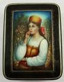 Russian Beauty  | Fedoskino Lacquer Box