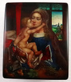 Madonna with a Child  | Fedoskino Lacquer Box