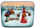 Winter Village scenes | Fedoskino Lacquer Box