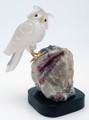 Brazilian Hand-Carved Gemstone Owl | Gemstone Carvings