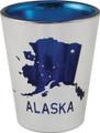 Electroplated State Dipper Shot Glass | Alaska Souvenirs