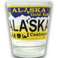 Alaska License Plate Shot Glass | Alaska Souvenirs