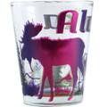 Electroplated Moose Shot Glass | Alaska Souvenirs
