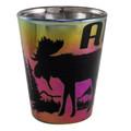 Electroplated Shot Glass | Alaska Souvenirs