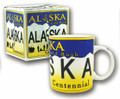 Alaska License Plate Boxed Mug | Alaska Souvenirs