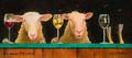 Three Sheeps to the Wind - Will Bullas Metal Art