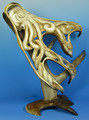 Caribou Antler Octopus Large | Bone and Antler Carvings