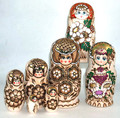 Large 5 Nest Assorted Doll