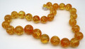 Amber Beads Round Large II | Baltic Amber