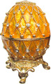 """Egg """"Net"""" - Yellow small   Faberge Style Egg"""