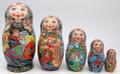 Firebird and Tsarevich Ivan | Unique Museum Quality Matryoshka Doll