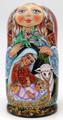 Nativity by Galina Ivanova| Religious Theme Matryoshka Nesting Doll - SOLD
