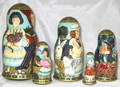 Alice in Wonderland by Krylova | Unique Museum Quality Matryoshka Doll