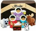 Alaska Felt Nativity 9 Piece Set