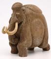 Walking Mammoth by Eugene Romanenko   Whalebone / Walrus Jawbone Carving