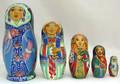Snegurochka | Fine Art Matryoshka Nesting Doll