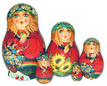 Summer Maiden | Fine Art Matryoshka Nesting Doll