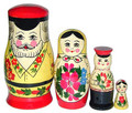 Family - 4 Nest | Traditional Matryoshka Nesting Doll
