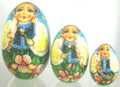 Egg Matryoshka 3pc