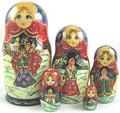 Scenic Russian Matryona
