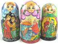 Marina's Fairy Tale Maiden   Traditional Matryoshka Nesting Doll