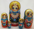 Bright Eyes Matryona | Traditional Matryoshka Nesting Doll