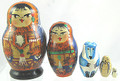 Alaska Mini 5 Nest with Walrus | Traditional Matryoshka Nesting Doll
