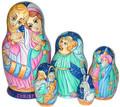 Christ Child Nativity | Religious Theme Matryoshka Nesting Doll