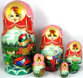 Fairy Tales 5 Nest - Assorted | Traditional Matryoshka Nesting Doll