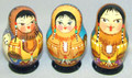 Alaska 5 Nest Mini - Assorted | Alaska Theme Matryoshka Nesting Doll