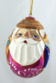 Vadim - Santa Egg | Russian Christmas Ornament
