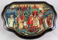 Tsar Saltan by Shibaeva | Kholui Lacquer Box