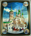Architecture by Shevalkin | Russian Lacquer Box